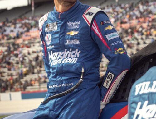 NASCAR / Kyle Larson (Chevrolet Camaro) en la pole para el domingo en Kansas.