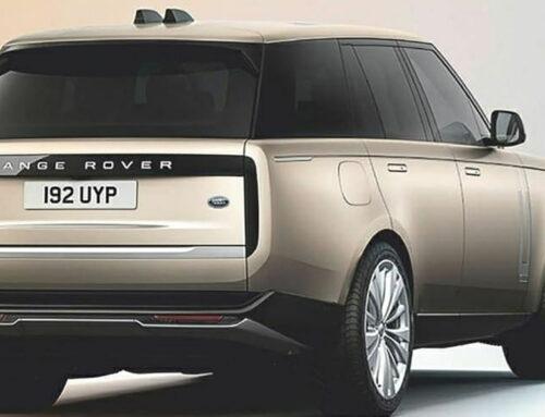 Range Rover 2022 espiado antes de la presentación la próxima semana.