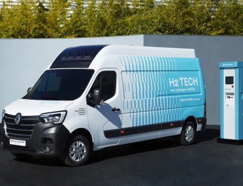 Renault presenta su Master con Hydrogen FuelCell.